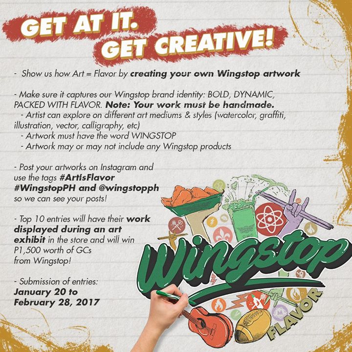 Photo from Wingstop PH.